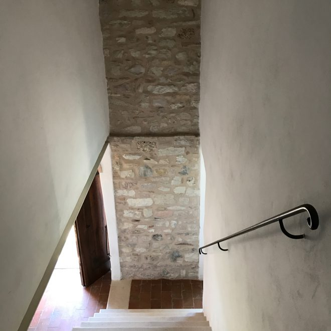 Treppe // Pfarrei
